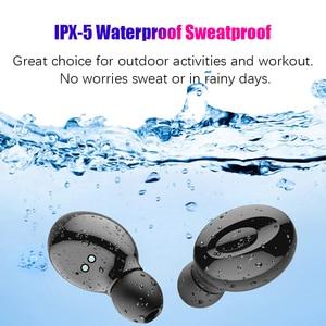 Image 3 - Hadinas TWS Oortelefoon Draadloze Bluetooth 5.0 Oordopjes True Wireless Stereo Handsfree Oordopjes Mini Waterdichte Draadloze Headset