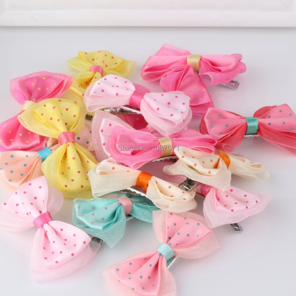 Ha hair accessories for sale - Online Shop Hot Sale By Pair Best Gift Bow Hairpins Girls Hair Accessories Children Accessories Baby Dot Hair Clip Send Randomly Aliexpress Mobile