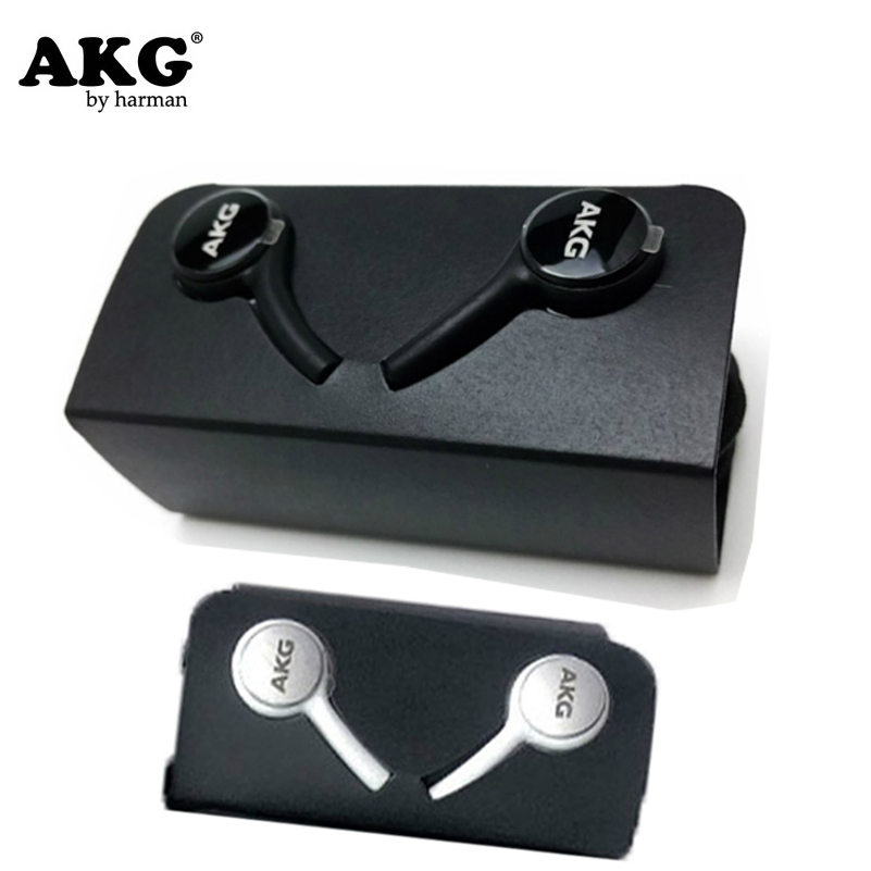 AKG Earphones Black IG955 3.5mm In-ear With Microphone Wire Headset For Galaxy S5 S6 S7 S8 S9 S10 Smartphone Eraphone