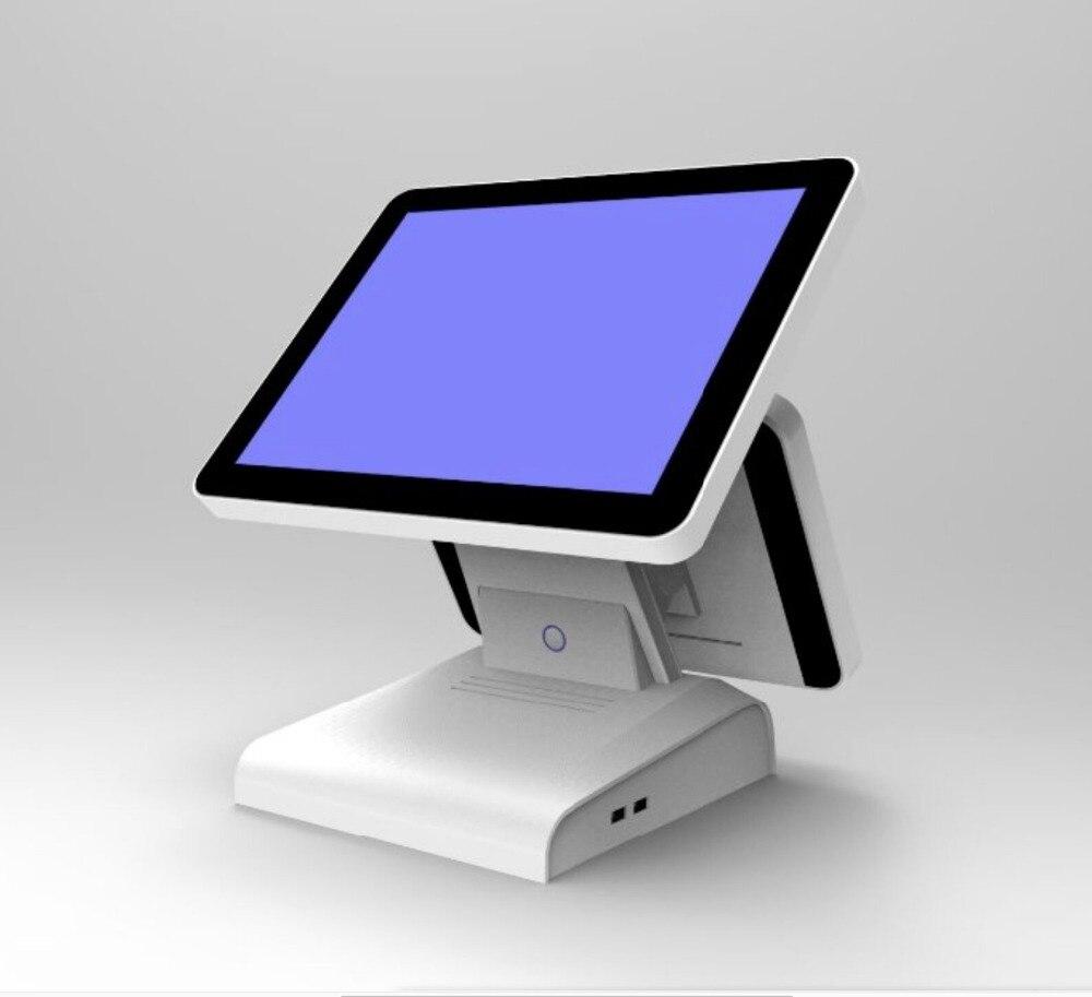 China Cheap Windows White 15inch Dual Display