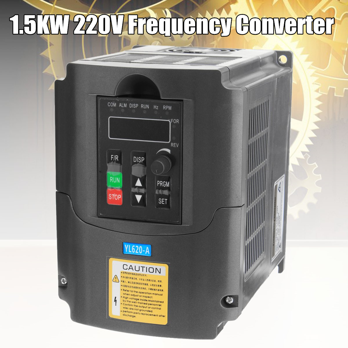 1.5KW Variable Frequency Inverter Speed Motor Vector Variable Drive Frequency Filter Inverter Converter