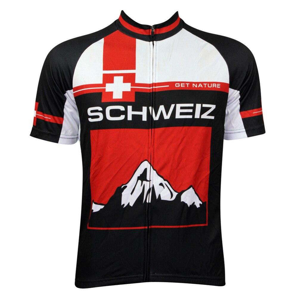 Чужа спортивна одяг Schweiz Червоний - Велоспорт