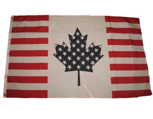 USA US Américain Canada Canadienne Amitié Drapeau et bannière ...