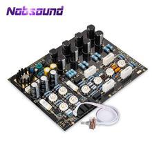 Nobsound High end Hi Fi vana tüp fono ön amplifikatör Stereo Preamp kurulu mükemmel referans KONDO AUDIONOTE M77 devre