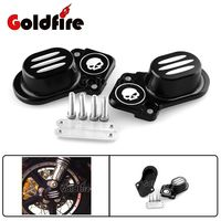 Black Motorcycle CNC Billet Aluminum Black Rear Axle Cover For Harley Sportster XL 883 1200 48