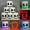 LED Light Marshmello DJ Mask Cosplay Helmet Halloween Prop DJ Masks Party Props Costume Gift Toy