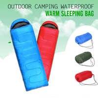 Sac de couchage thermique extérieur multifonctionnel enveloppe Camping à capuche voyage garder au chaud sacs de couchage résistant à l'eau sac paresseux