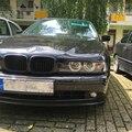 For BMW E39 525I 528I 530I 540I M5 Carbon Fiber Headlight Eyebrows Eyelids 1998-2003
