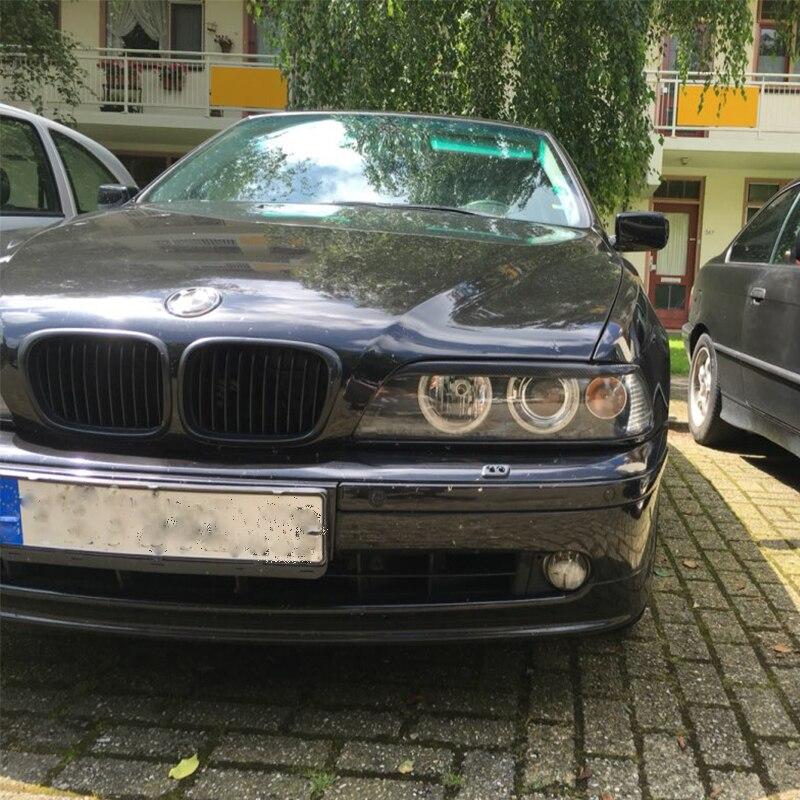 Pour BMW E39 525I 528I 530I 540I M5 En Fiber de Carbone Sourcils Paupières 1998-2003