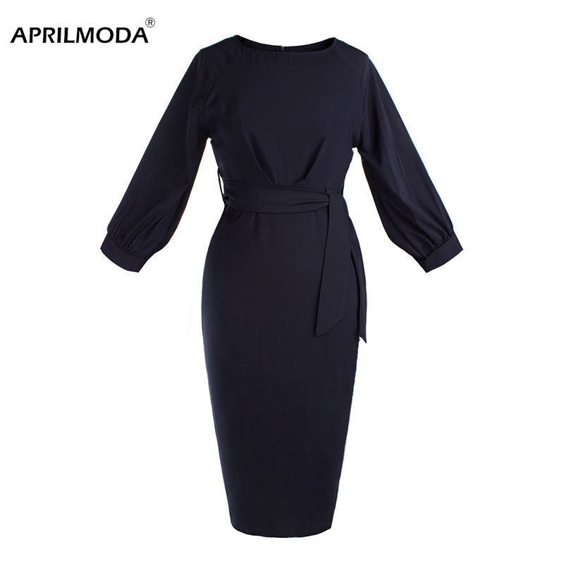 31668eea0bdd8 top 9 most popular pencil dress vintage navy list and get free ...