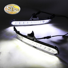 SNCN LED Daytime Running Light For Kia Rio K2 2015 2016,Car Accessories Waterproof ABS 12V DRL Fog Lamp Decoration
