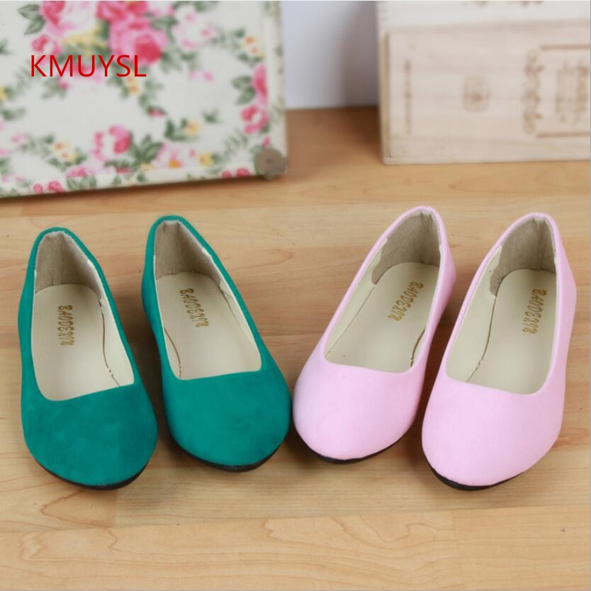 2016 Summer New Large Size Women's Fashion Flat Suede Shoes Woman Ballet Flats Shoes shofoo 2016 new brand women shoes solid purple suede ballet flats shoes plus size casual
