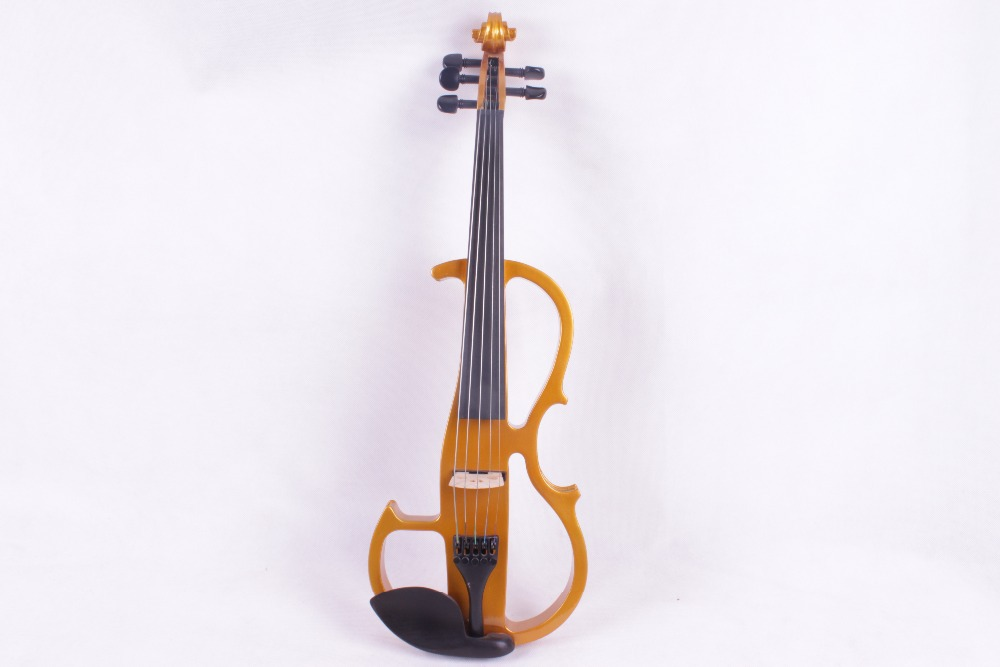 4/4 5 string Golden color Electric violin High quality