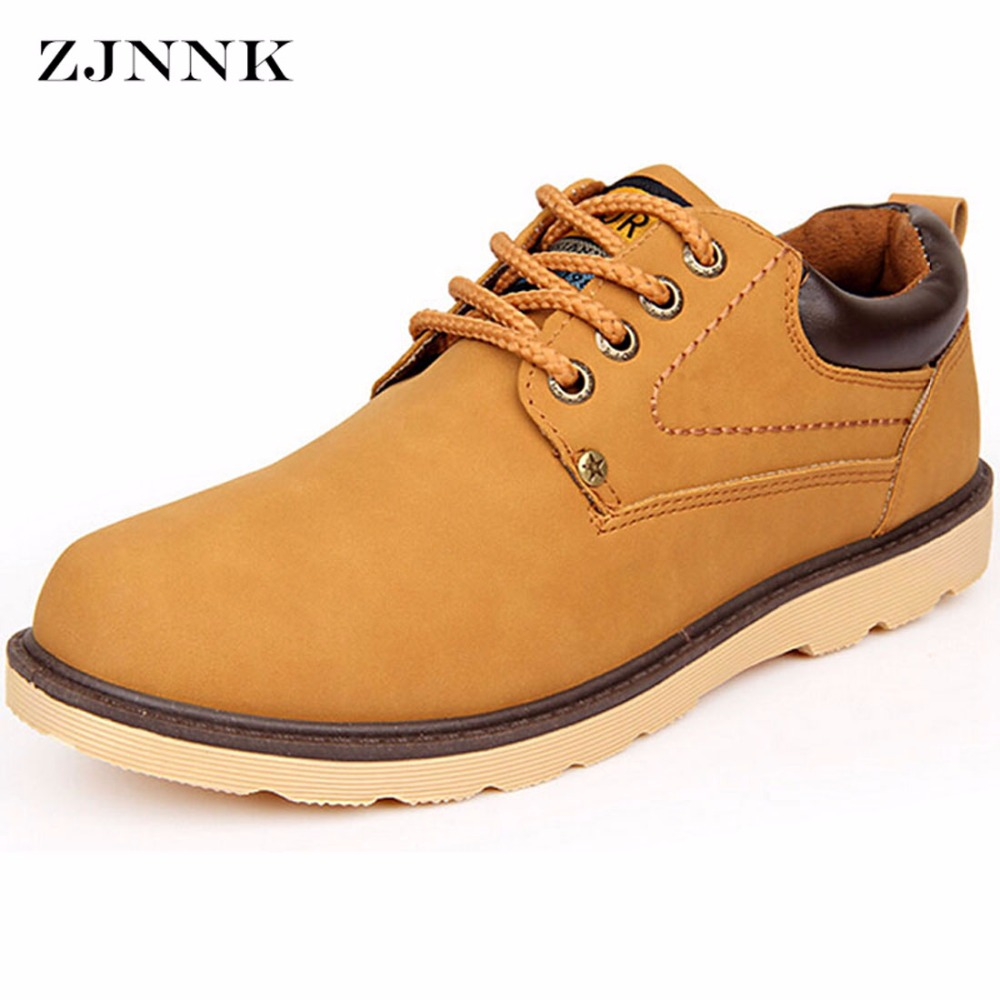 ZJNNK Men Casual Shoes Made Of Good PU England Style Male