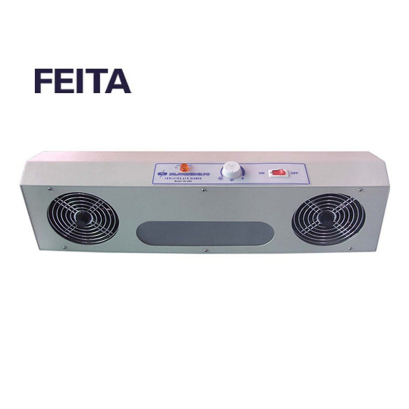 FEITA SL-002 Overhead Anti-static Ionizer Blower High Pressure ESD Ionizing Air Blower Fan with Two Air Outlets sl 001 pc esd ionizer fan esd ionizing air blower