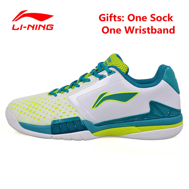 Li-Ning Men's Professional Tennis Shoes Breathable Balanced Support Gym Sneaker Shock-Absorbant Sport Athletic Lining tenis Shoe