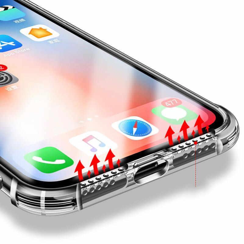 Darbeye dayanıklı Telefon samsung kılıfı Galaxy Not 9 8 10 S9 S8 S10 Artı A6 A8 A9 A50 A70 A30 A40 A10 kılıfları Temizle Yumuşak TPU kapak Çapa