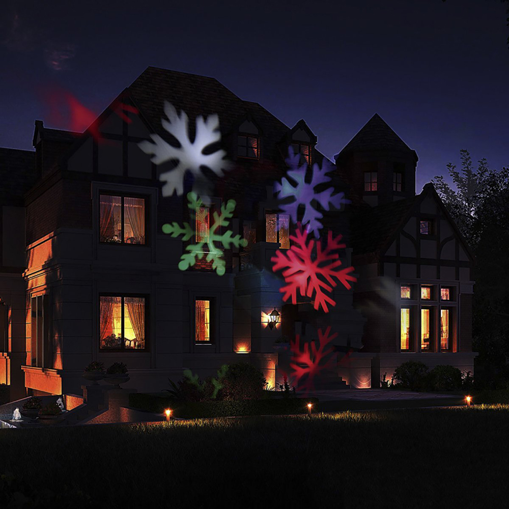 Snowflake Projector l& Waterproof Outdoor LED Stage Lights Christmas Laser for Home Garden Star Light Holiday Decoration 1pcs-in Stage Lighting Effect ... & Snowflake Projector lamp Waterproof Outdoor LED Stage Lights ...