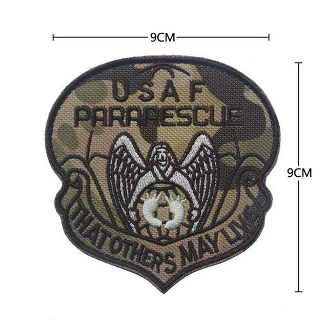 323d460fd40 Online Shop USAF PARARESCUE Tactical Patch THAT OTHERS WAY LIVE Military  Combat Chest Shoulder Armband Patch High Quality Embroidered Patch