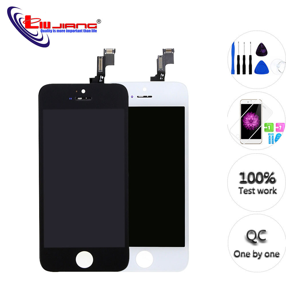 New AAA Quality For iPhone 5S 5 5C SE LCD Screen Display Digitizer Touch Screen for iPhone SE Repair parts with Tools Glass filmNew AAA Quality For iPhone 5S 5 5C SE LCD Screen Display Digitizer Touch Screen for iPhone SE Repair parts with Tools Glass film