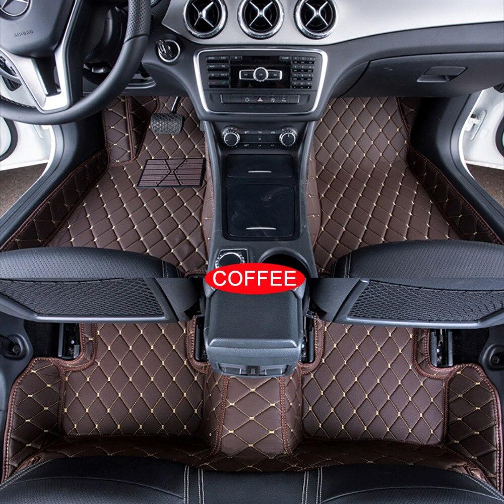 Car floor mats case for audi a7 2012 customized auto 3d carpets custom fit