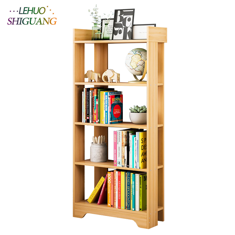 Modern Simple Book shelf Wooden Assembly wall shelf bookcase home living room Furniture organizer storage cabinetModern Simple Book shelf Wooden Assembly wall shelf bookcase home living room Furniture organizer storage cabinet