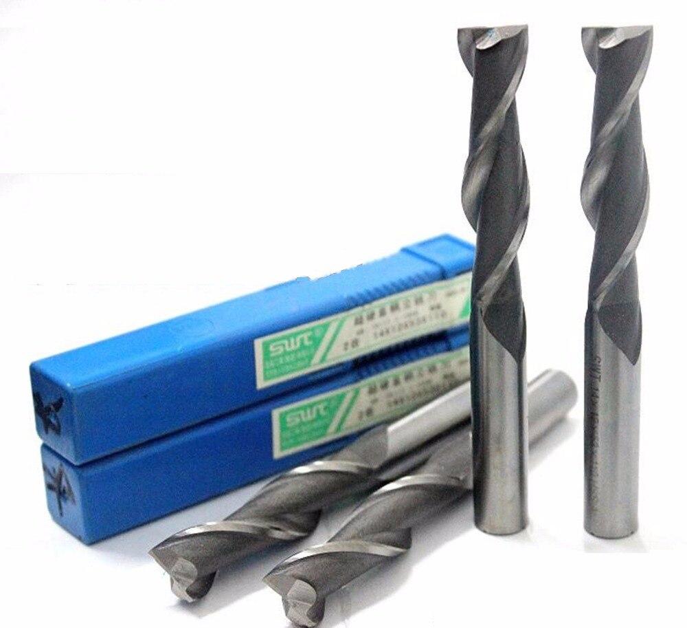 Extra Long 1pcs 16mm 4 Flute HSS /& Aluminium End Mill Cutter CNC Bit Extended
