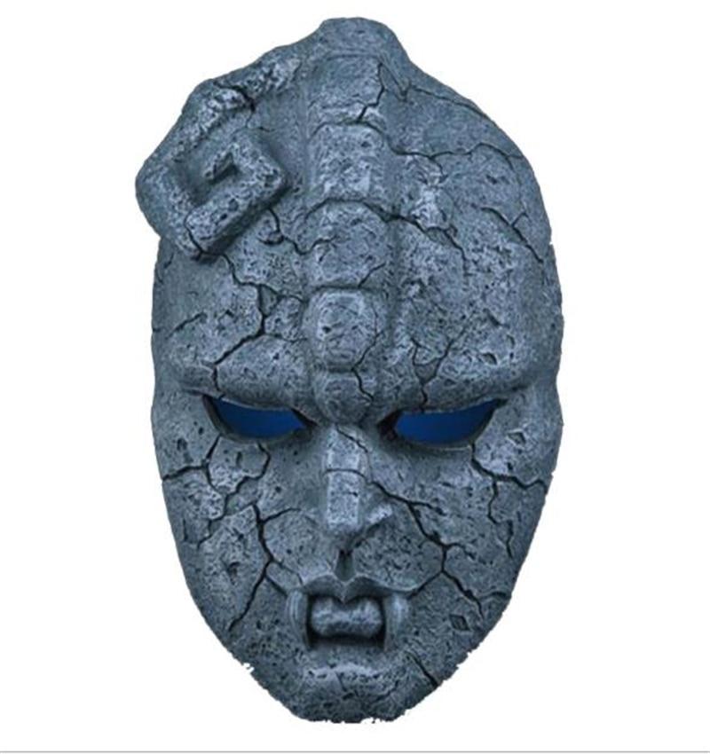 Manga Jojo Wonderful Adventure Gargoyle Mask Halloween Cosplay Birthday Party Masquerade Hobby Collection Wall Mask