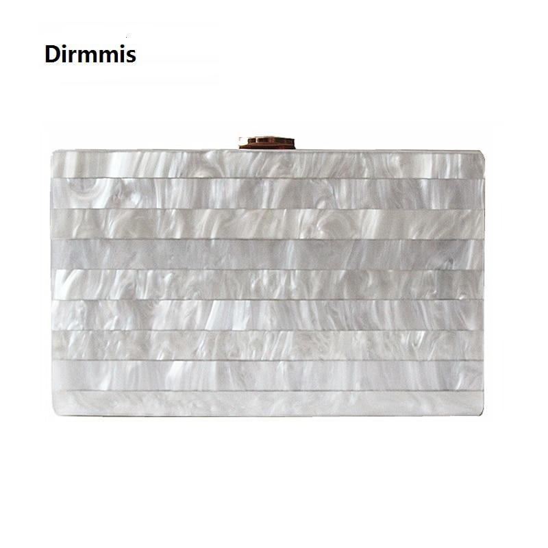 2018 Marka kadının akşam Debriyaj yeni benzersiz Mermer Çizgili Omuz Çantası zarif cüzdan Moda Akrilik bolsa feminina çanta