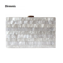 2018 marke frau abend Kupplung neue einzigartige Marmor Gestreiften Umhängetasche elegante brieftasche Mode Acryl bolsa feminina handtasche