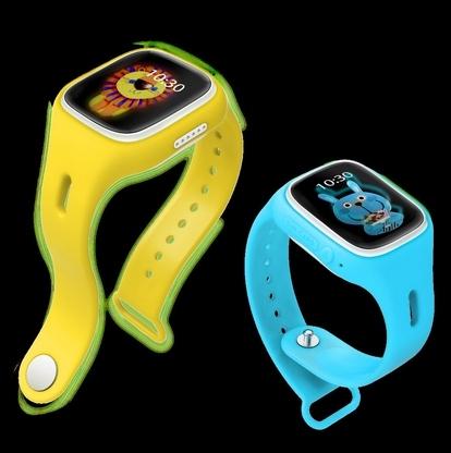 Crianças gps tracker a90 tela de toque wifi smart watch phone criança Monitor de Chamada SOS Localizador Dispositivo Anti Perdido para o presente do bebê