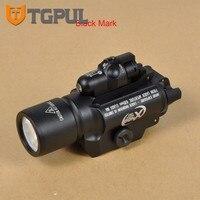 TGPUL Tactical Pistol Handgun Light SF X400 LED Flashlight Gun Light With Red Laser Fit 20mm