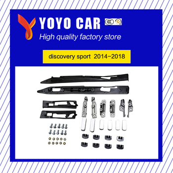 Hot sale black silver color screw install aluminium alloy side rail bar roof rack for discovery sport 2014 2015 2016 2017 2018