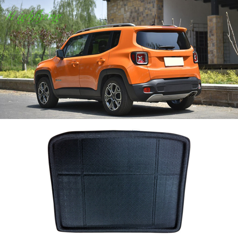 Interior Accessories Trunk Tray Boot Liner Cargo Mat Floor Protector 1 Piece For Jeep Renegade 2015 2016 2017
