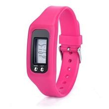 Women Watch Relogio Masculino Noble Digital LCD Pedometer Run Step Walking Distance Calorie Counter Watch Bracelet HOT SALE 3*