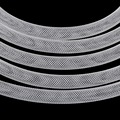 NiceBeads Dia 8mm White Stardust Bracelet Mesh Cord Tubing Tube Plastic Net Thread Cord String DIY Jewelry Making Findings