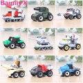 [Bainily] 1 компл. Образования Автомобиля Строительных Блоков Автомобиль Игрушки фигурку DIY игрушки для детей Kid Подарков, как Legoe Друзей