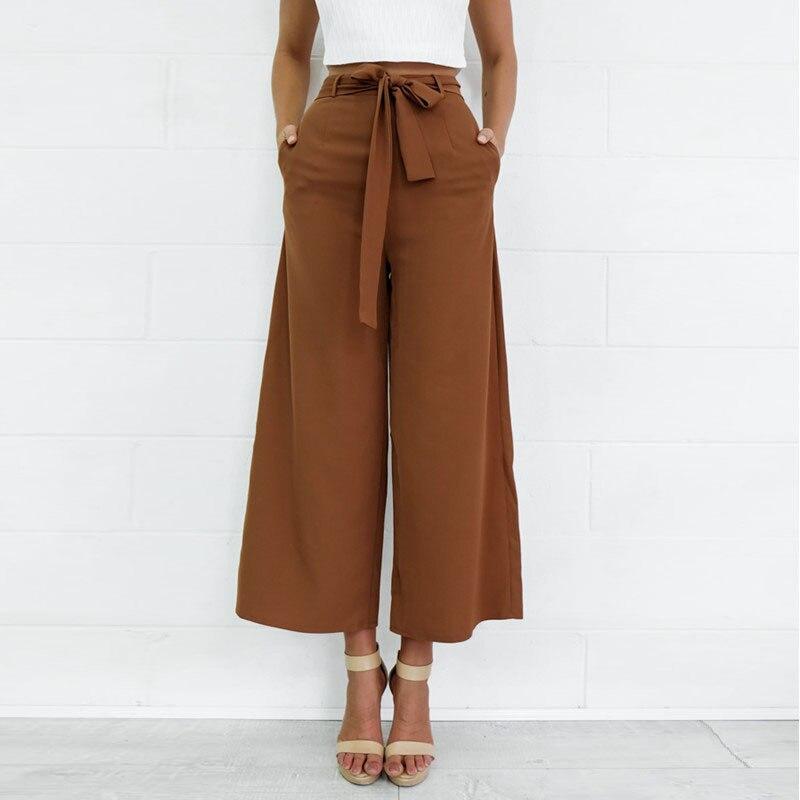 New Pattern Woman Waist A Trouser Leg Half-body Sexy Nine Part Women   Pants     Capris