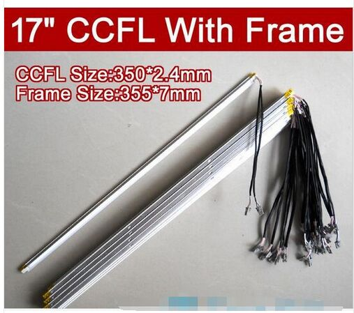 Universal 17 Inch CCFL Lamps For LCD Monitor With Frame Backlight Assembly Double Lamps 354mm*7mm NEW