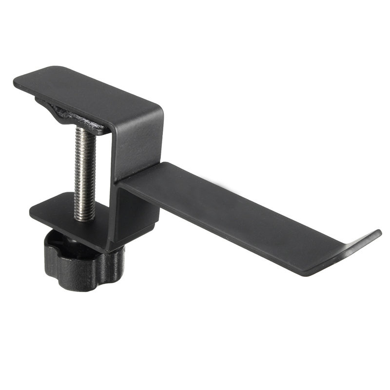 Steel Universal Headphone Destop Mount Holder Hanger Hook Headset Shelf Rack Earphones Stand Gaming Studio DJ With Screws