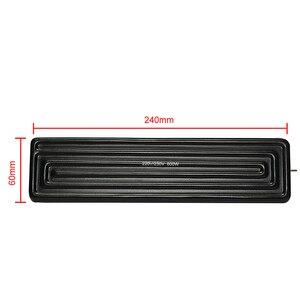 Image 5 - 4 pçs/lote 240x60mm 600 w inferior infravermelho placa de aquecimento cerâmica para estação retrabalho bga parte superior inferior na ferramenta peças