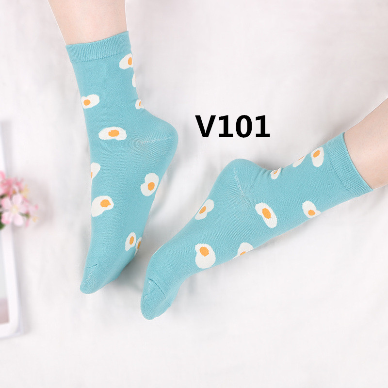 2018 nouveau arrivent mode Femmes chaussettes haute qualité 10 pcs/ensemble V101