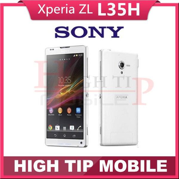 FREE Gift Original Unlocked Original Sony Xperia ZL L35h Mobile phone 3G 4G 2G RAM 16G