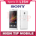 FREE Gift Original Unlocked Original Sony Xperia ZL L35h Mobile phone 3G 4G 2G RAM+16G ROM Qual-core Wifi GPS Refurbished
