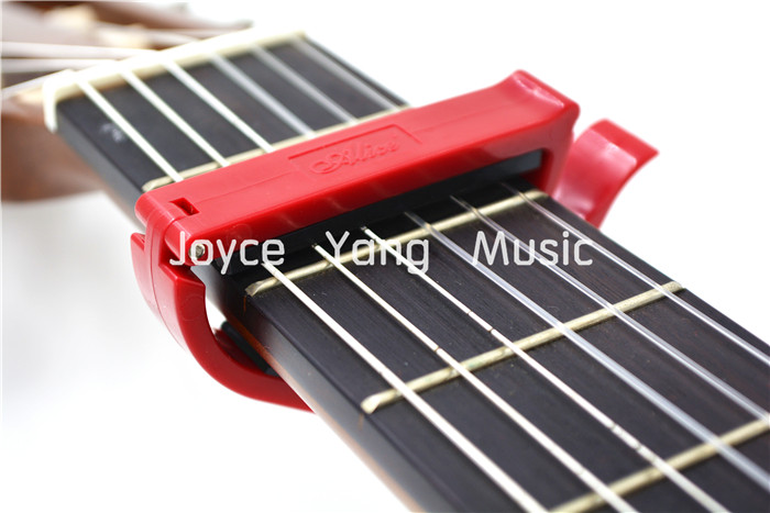 Alice A007E-C Colourful Plastic Ratchet Guitar Capo Clamp For Classical Guitar Free Shipping Wholesales