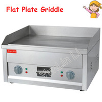 Flat Plate Electric Griddle Stainless Steel Grill Electric Cooking Plate for Commercial or Camping FY-610