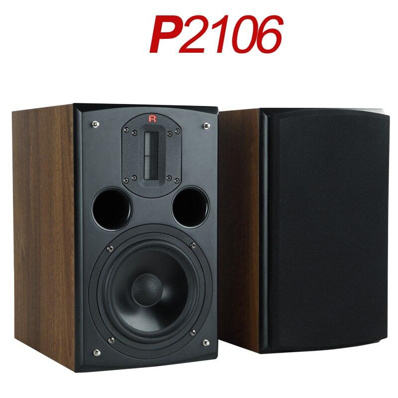 N-003 рифма акустической P2106 с NeoX2. 2 с высокий, 6,5-дюймовый FW168F бас блока, Разделение частоты полки HiFi Динамик