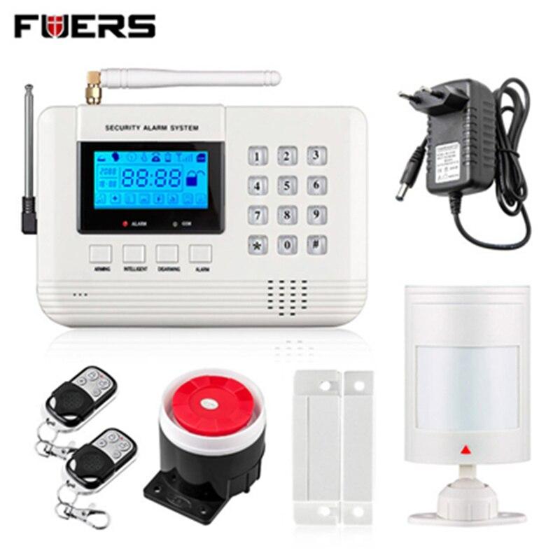 imágenes para Fuers Inalámbrica 433 MHz Sistema de Alarma de PSTN GSM de doble red de Sistema de Alarma de Ladrón del Hogar de Seguridad Envío gratis