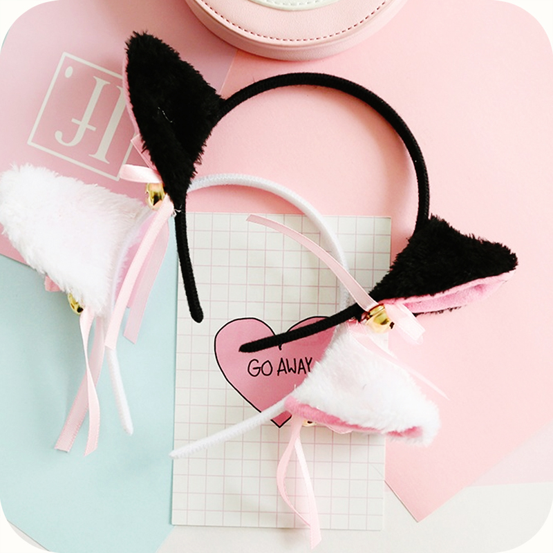 Kids Costumes & Accessories Headwear Anime Japanese Cosplay Cat Ears Cartoon Halloween Masquerade Cute Cartoon Cost Fox Leopard Tiger Monkey Ears And Bell Novelty & Special Use
