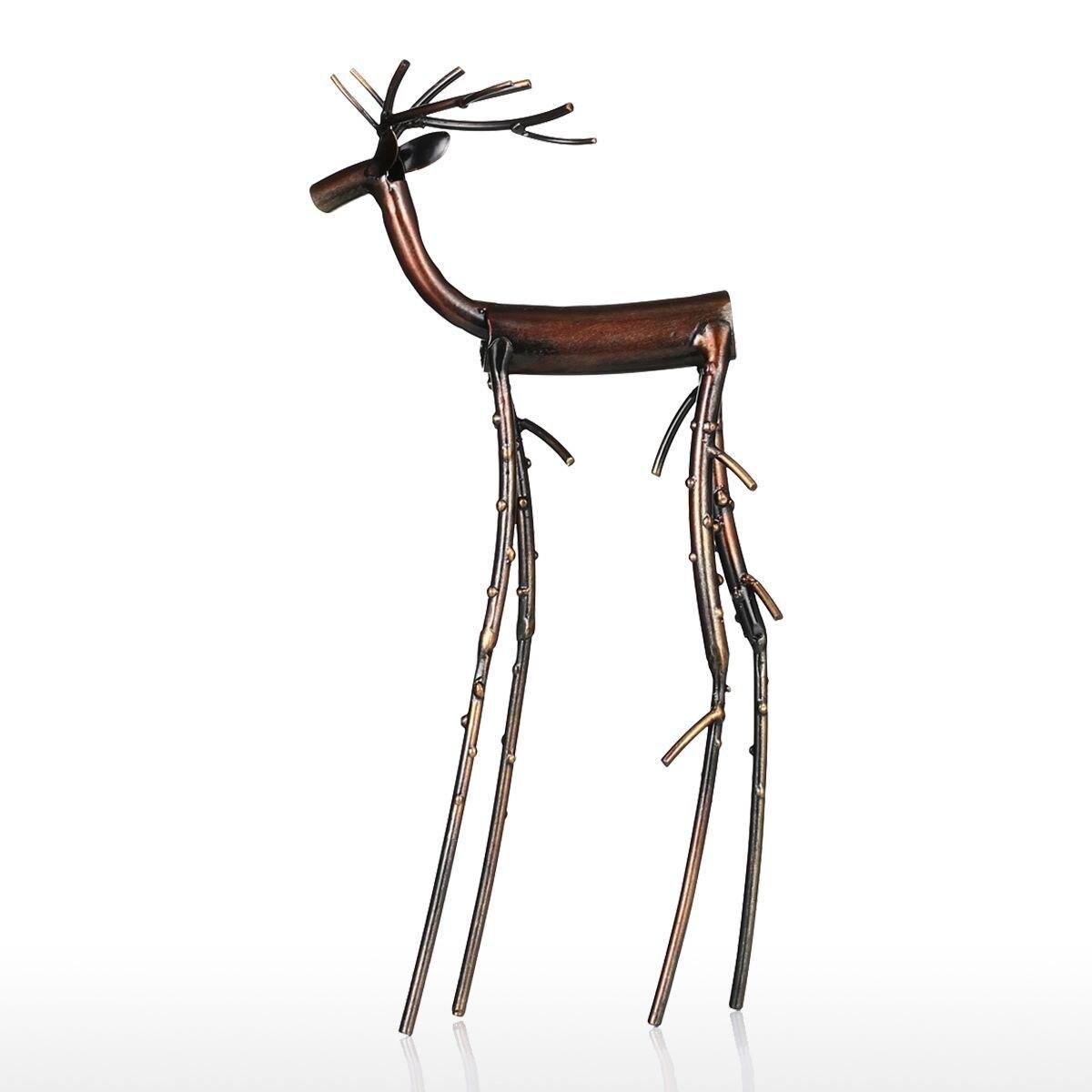 Black Long Leg Moose Figurine Iron Home Decoration Crafts Rhaliexpress: Moose Figurines In Home Decor At Home Improvement Advice